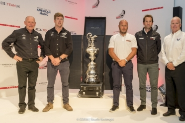 The America's Cup with the new Prada case.